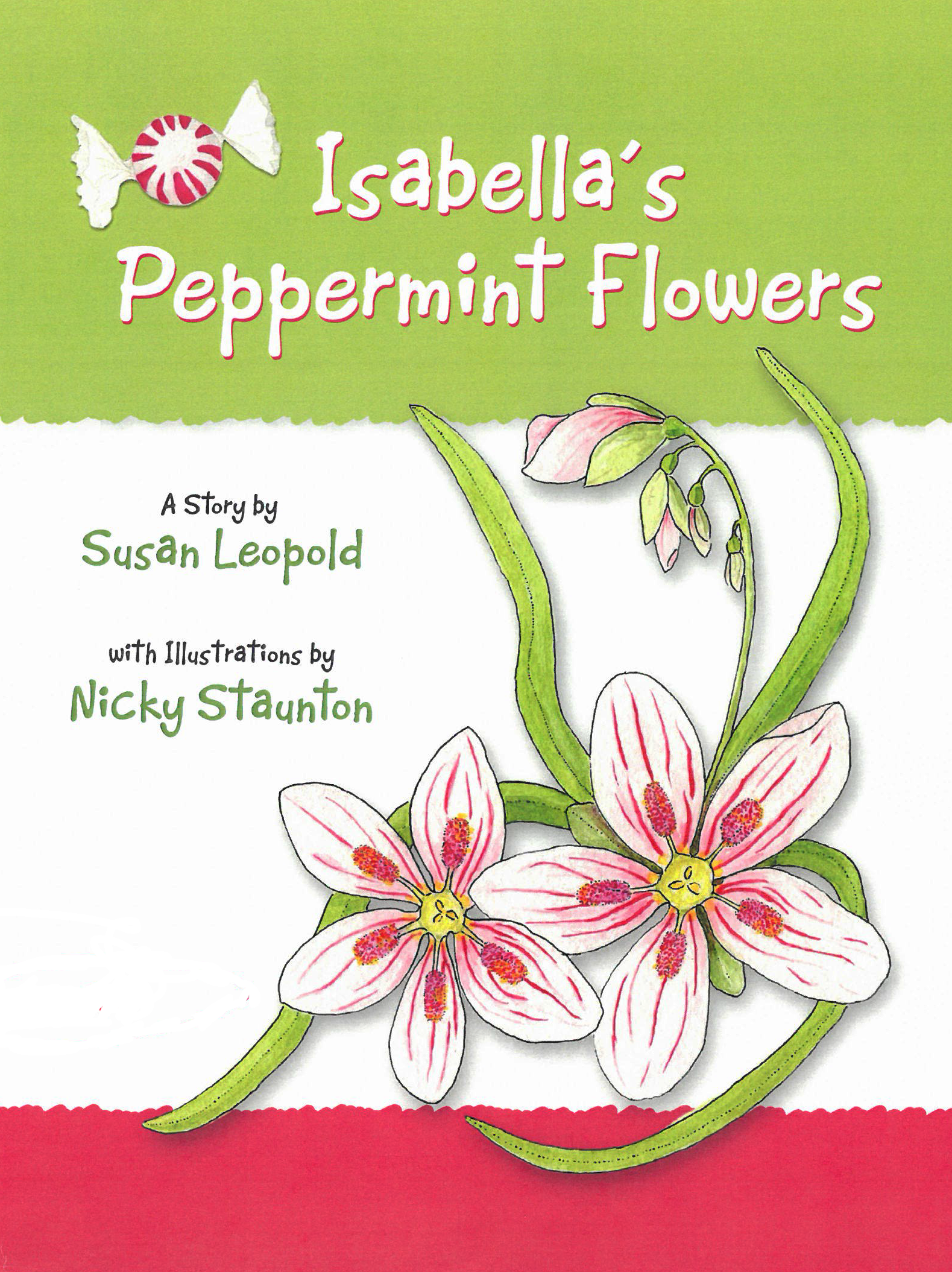 Isabella's Peppermint Flowers book